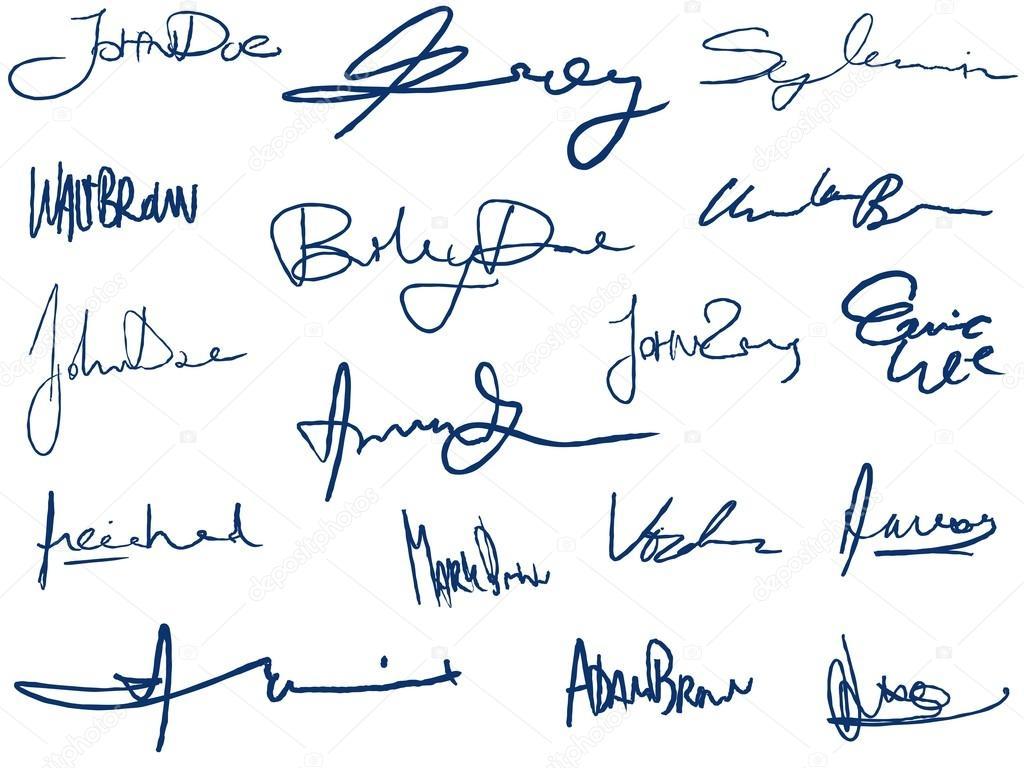 Giám đốc thay đổi chữ ký