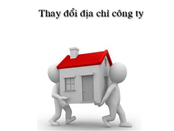 Thủ tục thay đổi địa chỉ công ty theo quy định của pháp luật
